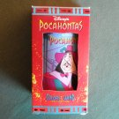 Pocahontas and Governor Ratcliffe Disney Classic Burger King Plastic Tumbler 1994