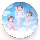 Heavenly Pirouettes Kristin Dreamsicles Plate 1995