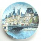 Louis Dali L Hotel De Ville De Paris D Arceau Limoges Porcelain Plate