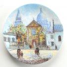 Louis Dali Coeur De Montmartre D'Arceau Limoges Porcelain Plate