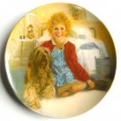 Annie and Sandy Columbia Pictures 1983 Edwin M Knowles plate