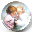Donald Zolan's Tiny Treasures Childhood Friendship Pemberton & Oakes plate