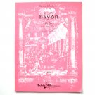 Echo For Two Flutes Sheet Music Notebook
