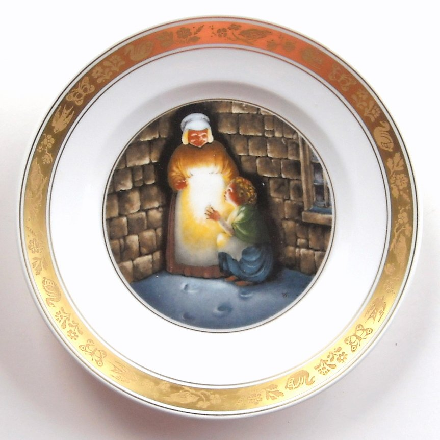 Little Match Girl Royal Copenhagen H C Andersen Plate