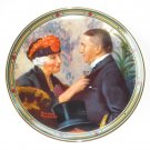 Norman Rockwell American Dream Collection # 8 Knowles wall plate