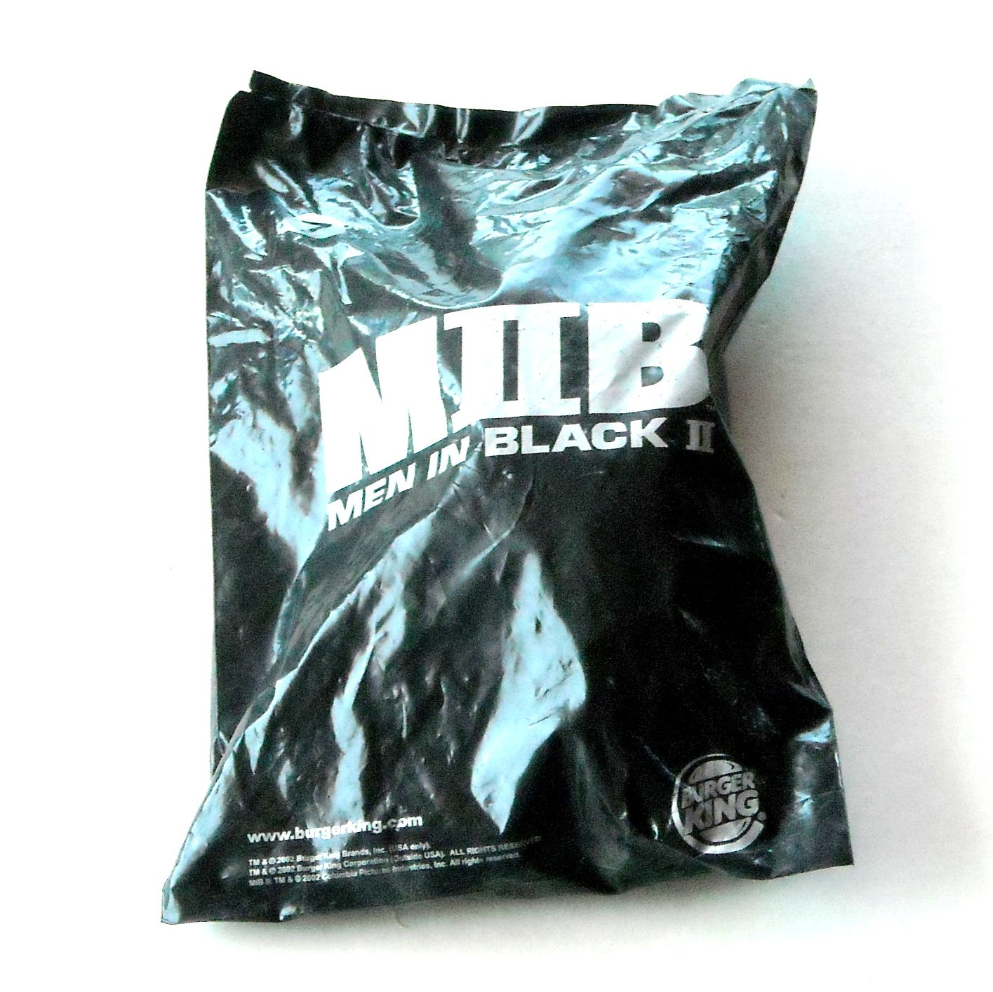 Men In Black 2 MIIB Burger King Toy Figure No 7