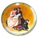 Norman Rockwell American Dream Collection No 2 Knowles Wall Plate