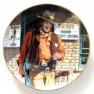 John Wayne American Legend Robert Tanenbaum Franklin Mint fine porcelain plate