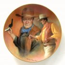 American Frontier John Wayne Cassidy Alexander Hackett American plate 1984