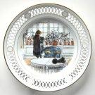 Carl Larsson Flowers on the Windowsill Original Box Bing Grondahl Plate
