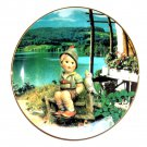 M I Hummel Calendar June Carefree Days Goebel Plate