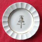 Royal Copenhagen Julen 1967 Navy Christmas Plate Dish