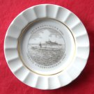 Royal Copenhagen Julen 1984 Navy Christmas Plate Dish