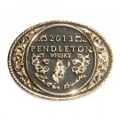 2013 Pendleton Whisky Rodeo Montana Silversmiths Cowboy Belt Buckle