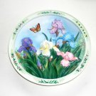 Beautiful Gardens Lena Lius 3D First Edition Plate 1995