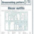 Blazer Outfits Phoebus Dressmaking Vintage 1975 Sheet Sewing Pattern 76