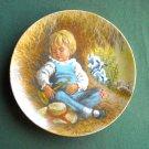 John McClelland Mother Goose Little Boy Blue Reco Plate 1980