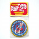 Vintage Ringling Bros And Barnum & Bailey Circus Embroidered Emblem