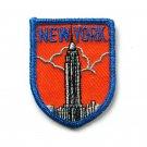 Vintage New York Embroidered Souvenir Emblem Patch