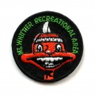 Mt Whittier Recreational Area Vintage Round Embroidered Souvenir Patch