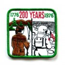 Vintage 200 Years Embroidered Souvenir Emblem Patch