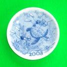 Royal Copenhagen Millennium 2003 Small Plate Plaquette