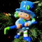 Custom Vintage Strawberry Shortcake Blueberry Muffin Ornament