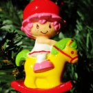 Custom Vintage Strawberry Shortcake Cherry Cuddler Ornament R-1