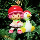 Custom Vintage Strawberry Shortcake Cherry Cuddler Ornament
