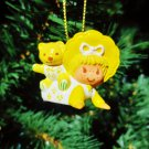 Custom Vintage Strawberry Shortcake Butter Cookie Ornament