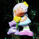 Custom Vintage Strawberry Shortcake Angel Cake Ornament