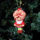 Custom Vintage Strawberry Shortcake Ornament