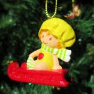 Custom Vintage Strawberry Shortcake Apple Dumplin Ornament