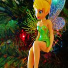 Custom Disney Sitting Tinker Bell Fairy Ornament R-279