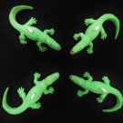 Custom Set of 4 Realistic Alligator Mini Tree Ornaments