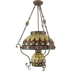 Kichler Colonial Tiffany Inverted Pendant- Bronze