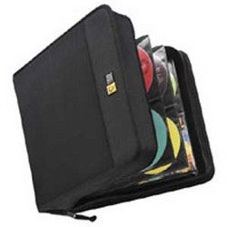 Nylon CD Wallet 320 Capacity (Black)