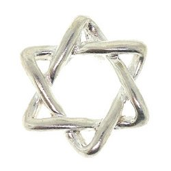 Sterling Silver Jewish Star of David Pendant