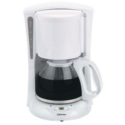 12-Cup Digital Coffee Maker in White