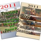 Set 2 DVDs 2011 Pro Farm Season & Tractors from the Keystone Nationals Indoor Pull
