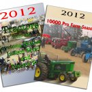 Set 2 DVDs 2012 Pro Farm Season & Tractors from the Keystone Nationals Indoor Pull