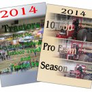Set 2 DVDs 2014 Pro Farm Season & Tractors from the Keystone Nationals Indoor Pull