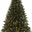 7' Emerald Peak Pre-lit Christmas Tree- Multi Color Lights