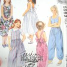 McCall's Fashion Basics For Kids pattern # 5962 Size CH 7,8,10