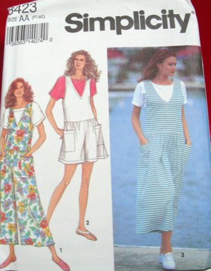 Simplicity Pattern #8423 Size AA PT-MD