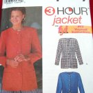 Simplicity 3 Hour jacket FYI Fit Yourself Instructions Pattern #9082 Size PP 12, 14, 16, 18