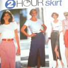 Simplicity 2 Hour Skirt Pattern #8303 Size KK 8-14