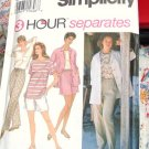 Simplicity 3 Hour Separates Pattern #9081 Size NN 10, 12, 14, 16