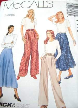 McCall's Quick & Easy Pattern #7179 Size C  10,12,14