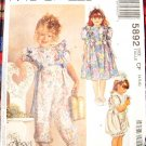 McCall's Angel Wears Pattern #5892 Size CF 4,5,6